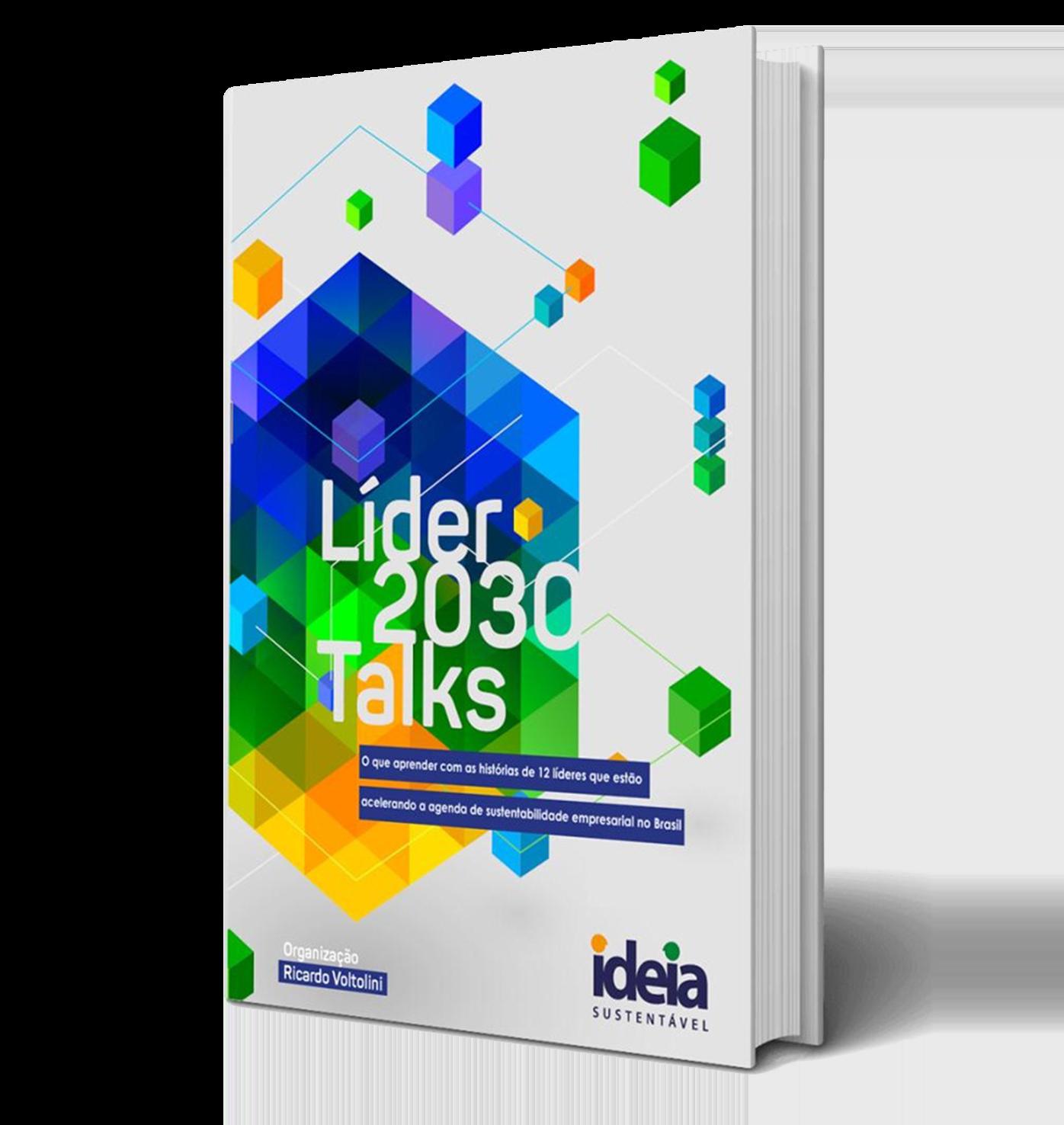 Líder 2030 Talks - O que aprender com as histórias de 12 líderes que estão acelerando a agenda de sustentabilidade empresarial no Brasil